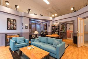 Jerry Seinfeld's apartment set for the sitcom, Seinfeld