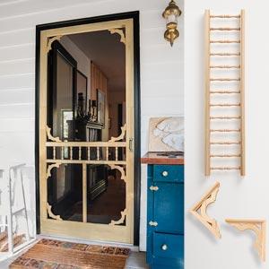 Vintage Screen Door Charm On A Budget Doors Interior