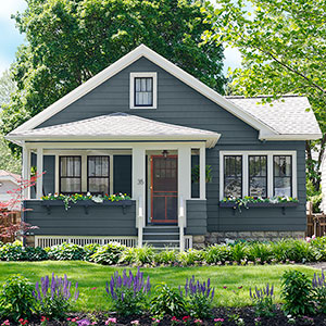 How to update a small home without a pro remodels for Small house exterior