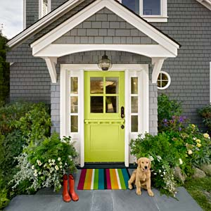 How To Pull Off A Bold Front Door Paint Color Doors