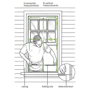 How to Measure a Window Opening