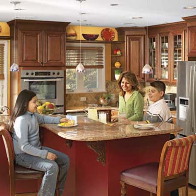 family friendly kitchen makeover kitchen cabinets kitchen islands