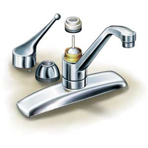 How To Fix A Leaking Single Handle Sink Faucet