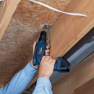 repairing squeaky floors