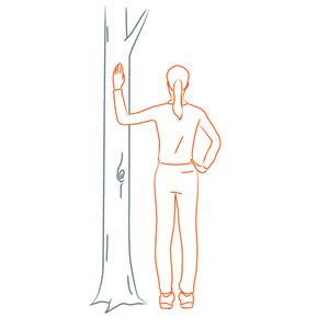 illustrated guide for how to stretch for accident prevention