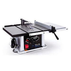 The 40-pound Delta TS200 table saw