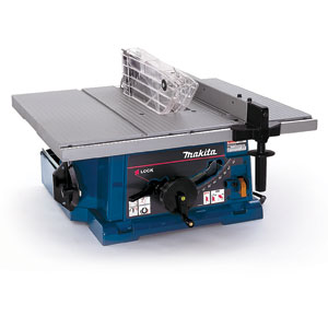 The Makita 2703 table saw