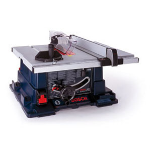 The 60-pound Bosch 4000 table saw