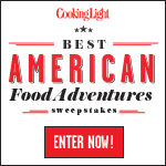 The Cooking Light Best American Food Adventures Sweepstakes