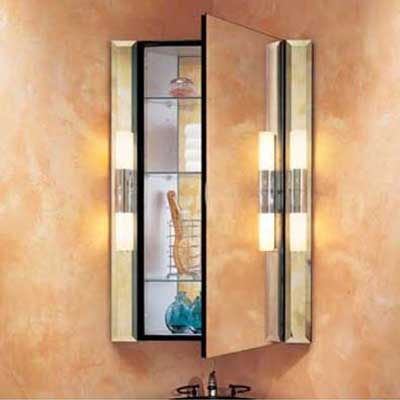 robern corner bath medicine cabinet