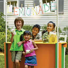 building a lemonade stand