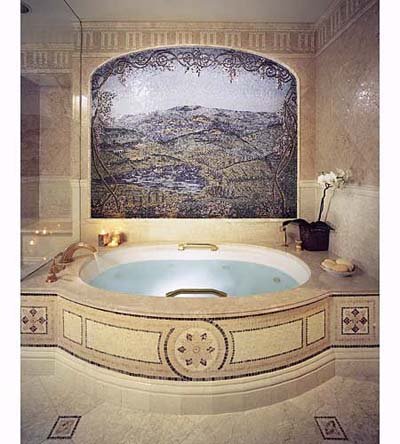 mosaic masterpiece | bath tile design ideas | this old house
