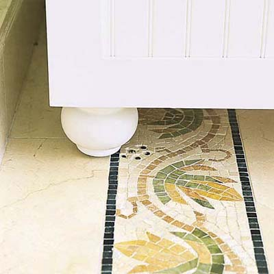 mosaic tile border