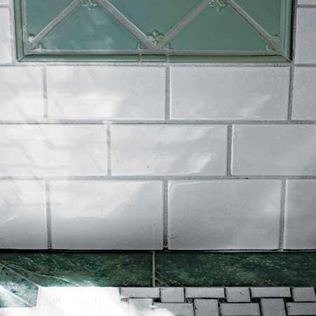 vintage-style bathroom tile