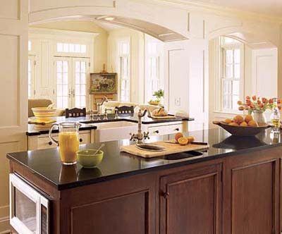 A Good Place to Put Appliances | Kitchen Island Design Ideas ...