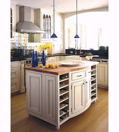 Kitchen Island Country
