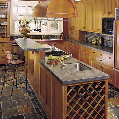 Country Kitchen Island Cooktop Pictures To Pin On Pinterest