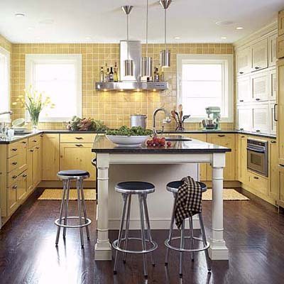 Designkitchen Island on Stool Storage   Kitchen Island Design Ideas   This Old House