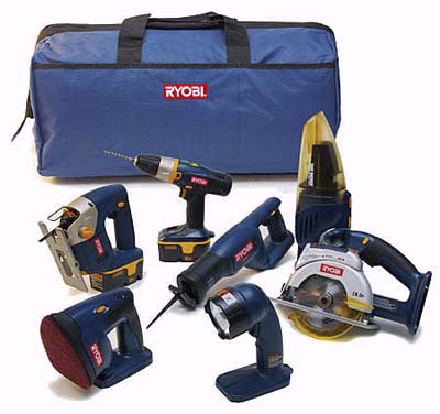 Renovator cordless combo kit by Ryobi