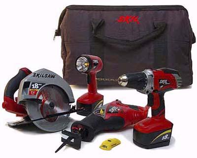 Skil cordless combo kit