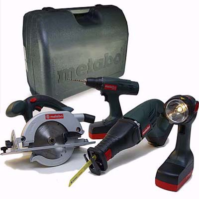 Metabo cordless combo kit