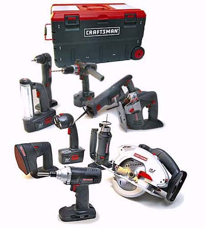 Craftsman 11-piece cordless combo kit