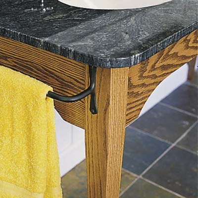 marble topped vintage style vanity-table
