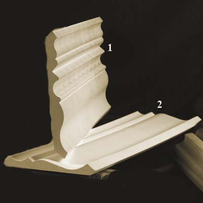 mdf fiberboard crown moldings