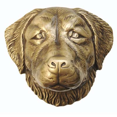bronze door knocker modelled after the short-legged hunting dog and a national symbol of Germany