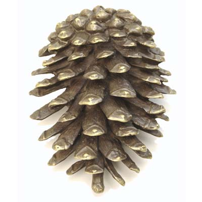 natural-charm rustic pinecone door knocker