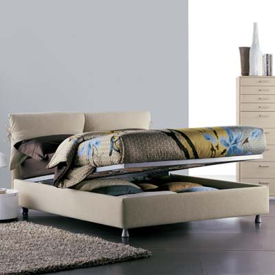 Flou Storage Bed