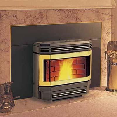 Enviro Pellet fireplace insert