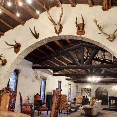 interior of a castle in texas