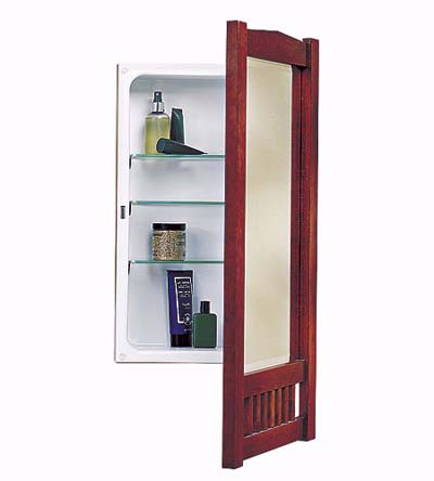The Mission medicine cabinet from NuTone 