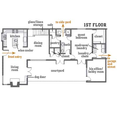 first-floor floorplan