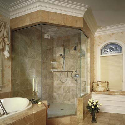 shower door design from Boscos