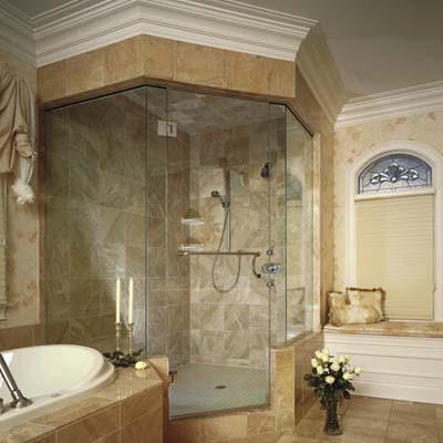 shower door design from Boscos