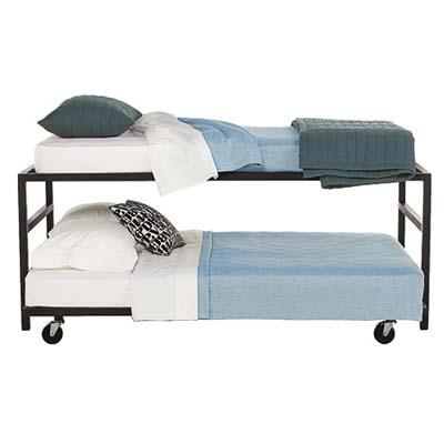 steel loft bed pairs