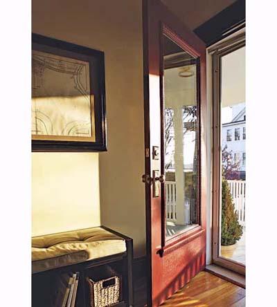 repaired front doors