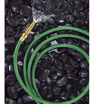 a rubber hose