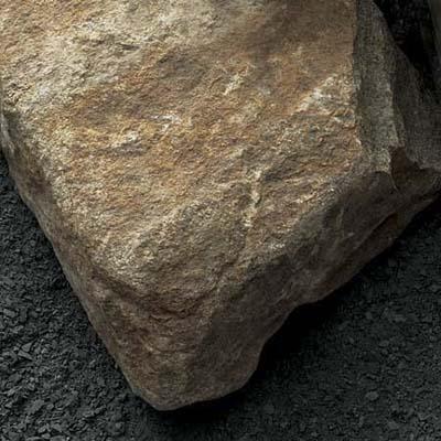 rough-hewn stone veneer