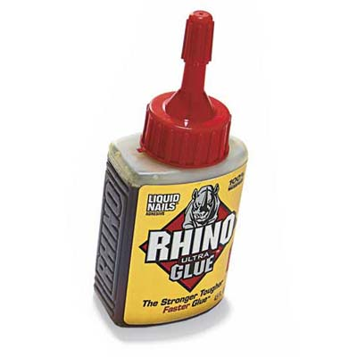 rhino glue bottle available from rockler woodworking and hardware