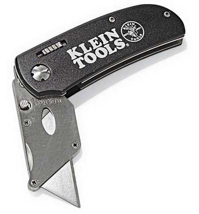 folding utility knife from klein tools