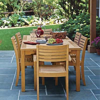 Take a Load Off | Patio Dining Sets | This Old House