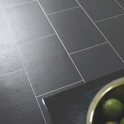 faux slate vinyl tiles by amtico