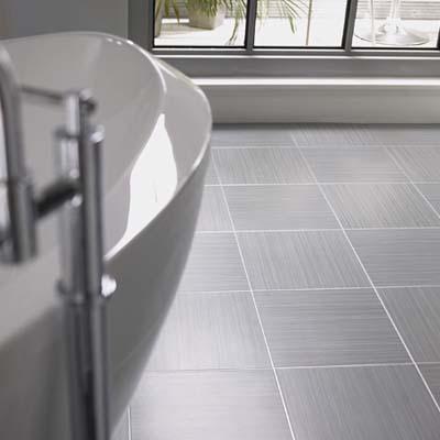 amtico faux concrete vinyl tiles