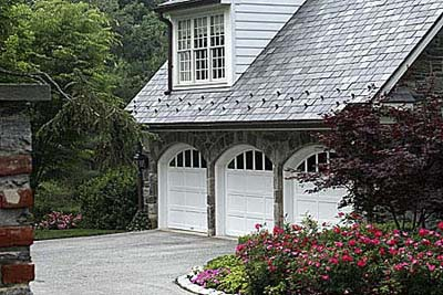 garage doors, carriage house style