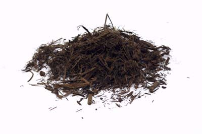 shredded bark mulch