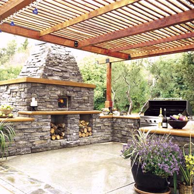 Smallshaped Kitchen Designs on King In Its Court   Recipe For An Outdoor Kitchen   This Old House
