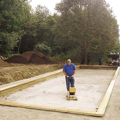 Building The Bocce Court A Backyard Built For Playing